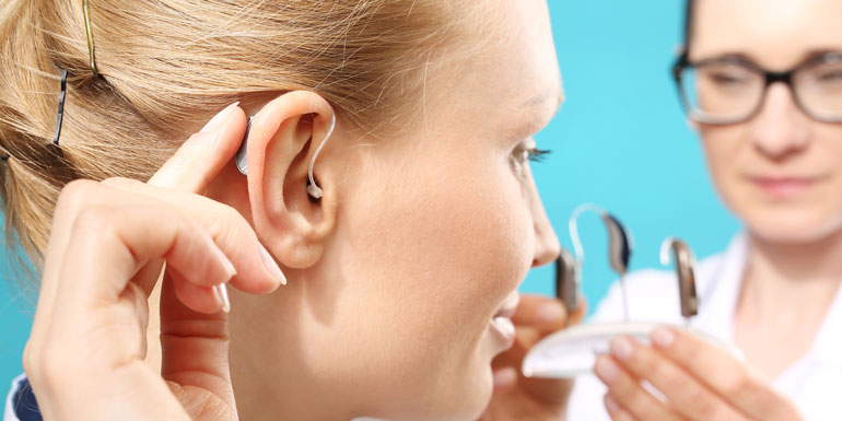 Invisible Hearing Aid Fitting   Victorian Hearing