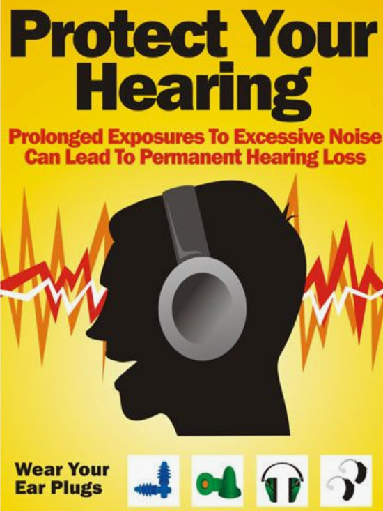 protect your hearing graphic
